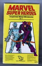 MARVEL SUPER HEROES Metal Miniatures Set #3 TSR 1984 RPG painted nicely
