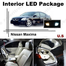 White LED Lights Interior Package Kit for Nissan Maxima 2004-2008 ( 11 Pcs )