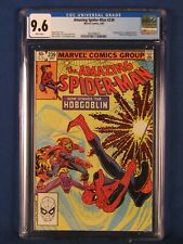 MARVEL COMICS CGC 9.6 THE AMAZING SPIDER MAN 239 4/83 WHITE PAGES