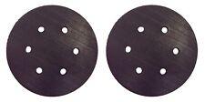 (2) 6 Inch Sander Pad Random Orbit Hook Loop Backing for Porter Cable 18001