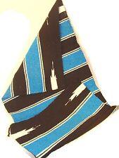 "#51 Rug Saddle Blanket Navajo 100% Recycled Fibers Woven 32"" x 64"" Mountain SW"