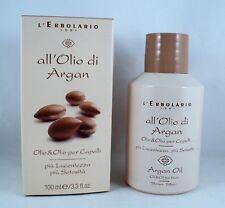 L'ERBOLARIO Olio & Olio x capelli all'OLIO di ARGAN 100ml trattamento lucidante