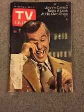 TV Guide - March 4, 1972 - Johnny Carson -Good Condition