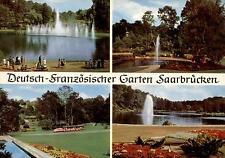 Saarbrücken  -  Motive im schönen Deutsch-Französischen Garten  -  1965