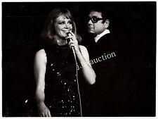 HILDEGARD KNEF & KURT EDELHAGEN LIVE ONSTAGE Stuttgart Liederhalle * 70er Foto