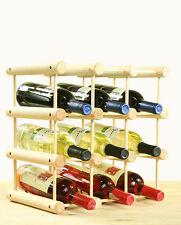 Flaschenregal  Weinregal Schrank für 12 Flaschen RW-7-1  Kiefer Steckregal*