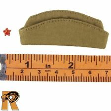 Soviet Red Army - Side Cap Hat & Badge - 1/6 Scale Alert Line Action Figures