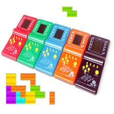 Boys LCD Game Electronic Vintage Classic Tetris Brick Handheld Arcade Pocket Toy