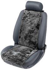 Universal Lammfell Autositz Auflage Cosmo schwarz, Sommer+Winter, 12-14 mm Höhe