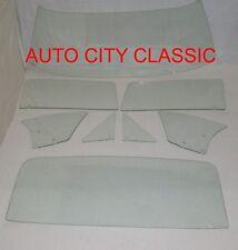 1967 Camaro Firebird Windshield Vent Door Quarter Rear Back Glass Set Clear HT