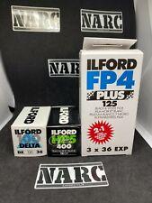 5X Ilford BW Lot 35mm expired film job lot