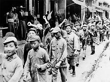 Fotografía de B&W China Chicos Pep reunión ejército comunista Cartel lv4845