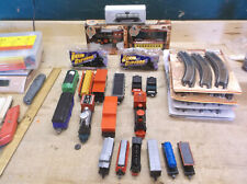 Lot Of Train Parts, Engines, Cars, Tracks small scale
