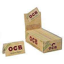 OCB Double Organic Hemp Rolling Papers Regular Size - Full Box (25 Booklets)