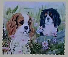 CAVALIER KING CHARLES SPANIEL NEW GLASSES LENS CLEANING CLOTH MICRO FIBRE IPAD