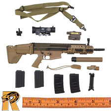 Dragoon SFG Veteran - SCAR Assault Rifle Set - 1/6 Scale - Easy Simple Figures