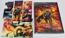 Gunlord 1st Print + 3 Stickers & Postcard Sega Dreamcast * Brand NEW Sealed *