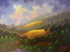 """Golden Meadows"" by Jon Rattenbury-1/10-Limited-Signed-Numbered-C.O.A."