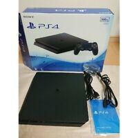 Sony Playstation 4 PS4 Console 500B CUH-2000A B01 Jet Black Fedex Shipping