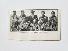 Cherokee Indians Kingsville Ontario  Baseball 1911 Team Picture RARE!