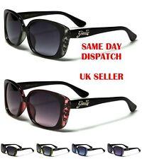 Giselle Rectangle Slim Shades Women's Floral Print Sunglasses 100%UV400 22049