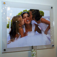 "Picture photo frame for 10 x 12"" /12 x 10"" Cheshire Acrylic baby wedding family"