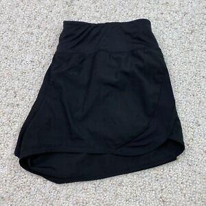 C9 Womens Active Shorts sz M Black Built In Underwear Dri Fit Elastic Waist