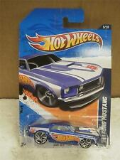 Hot Wheels- '69 Ford Mustang- Hw Racing- No.155- New On Card- L15