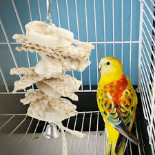 Corn Husk Pet Bird Chew Toy Parrot Swing Cage Toys For Parakeet Cockatiel Budgie