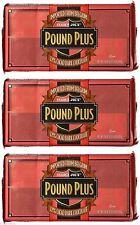 TRADER JOE'S Pound Plus Belgium 72% Cacao Dark Chocolate Bars 3 HUGE PACKS