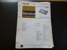 Original Service Manual Philips N 2400