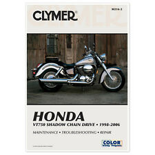 CLYMER REPAIR MANUAL HONDA SHADOW ACE VT750C 1998-00, VT750CD ACE DELUXE 2001-06