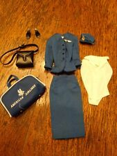 VINTAGE BARBIE AMERICAN AIRLINES OUTFIT IN NM CONDITION COMPLETE