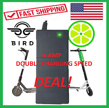 $ DOUBLE CHARGING SPEED 4-AMP | US SELLER LIME BIRD SPIN M365 SCOOTER CHARGER