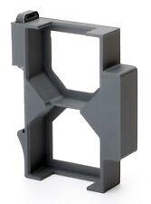 Hutschienenhalter für 2 Shelly Dimmer auf 35mm Hutschiene / DIN Rail / 2-fach