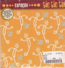 Coracao-Tic Tic Tac cd single seaeld Small cut in Sleeve