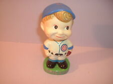 "Chicago Cubs 5.5"" Baseball Player Paper Mache Bobblehead Nodder Japan"