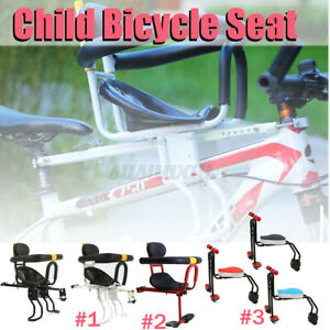 3 Types Safety Child Bicycle Seat Bike Front Baby Seat Kids Saddle w/Foot  C