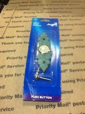 NEW ANGELO 76153 Door Bell 6-16 Volt Operation Greenish Color Plus Other Uses