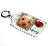 Yorkshire Terrier Keyring Key Ring Yorkie Dog Gift Xmas Gift Mothers Day Gift