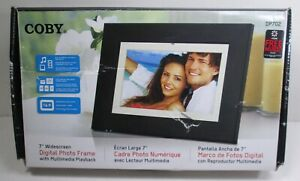 """Coby DP-702 7"""" Digital Picture Frame w/ Multi Media Playback"""