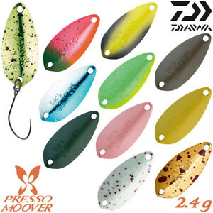 Daiwa PRESSO MOOVER 2.4 g 28 mm Trout Spoon Assorted Colors