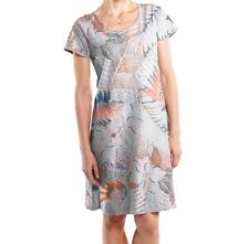 FRESH PRODUCE Large Vapor Gray COLORED PENCILS Sadie Jersey Dress NWT New L