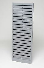 MMF Industries Time 40 Badge Capacity Pockets, Gray [ID 20401] NEW!!!
