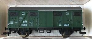"""Fleischmann 5339 H0 DB Kranzug-Gerätewagen in OVP """"NEU"""""""