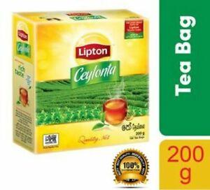 Tea Bags | Tea | BOPF | Approved Worlds No.1- Lipton Ceylonta