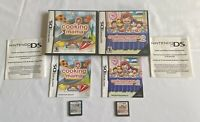 Nintendo DS Cooking Mama & Cooking Mama 2 Dinner with Friends Game Lot COMPLETE!