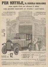 J0019 Giocattoli CARDINI - Limousine 500  - Pubblicità del 1923 - Old advert