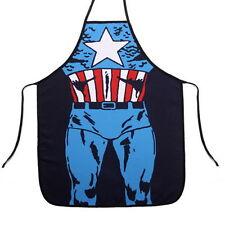 Novelty Apron Design 7 - Captain American FREE POST