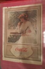Vintage 1917 Coca-Cola Modern Priscilla magazine advertisement